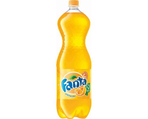 Напиток Fanta апельсин б/алк газ 2л пэт