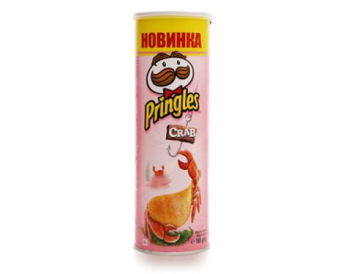 Чипсы ТМ Pringles (Принглс), Краб 165 г