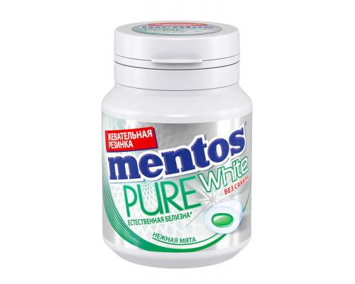 Жевательная резинка ТМ Mentos (Ментос) Pure white вкус, Нежная мята, 54 г