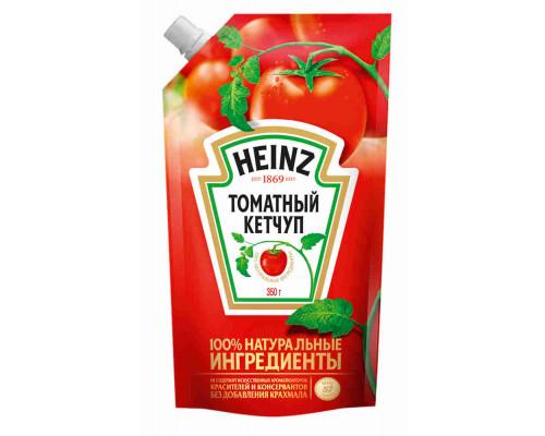 Кетчуп Heinz томатный 350г д/п