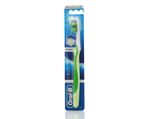 Зубная щетка Oral-B 3D White Отбеливание. Средней жесткости ТМ Oral-B (Орал-Би)