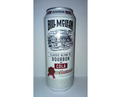 Коктейль Burbon and Cola, Bill Mclean, 7,2% 500 мл