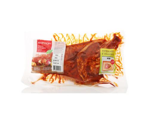 Рулька свиная в специях для запекания охлажденная ТМ Мираторг