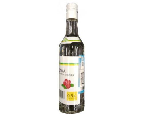 Водка Каждый день с ароматом клюквы, 40%, 0,5 л