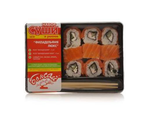 Набор суши и ролов Филадельфия Люкс ТМ Bonsai (Бонсай)