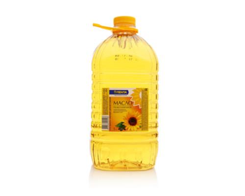 Масло подсолнечное 'Кубанская семечка' рафинированное дезодорированное ТМ Лента