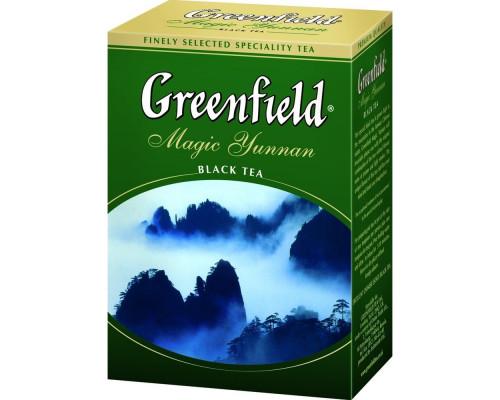 Чай черный ТМ Greenfield (Гринфилд) Magic Yunnan, листовой, 200 г