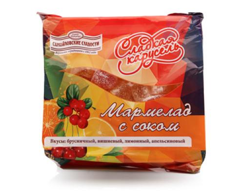 Мармелад с соком Сладкая карусель ТМ Самойловские сладости