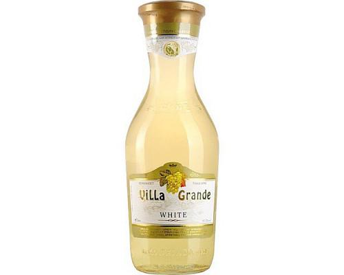 Вино Villa Grande (Вилла Гранде), белое, полусладкое, 10-12%, 1 л