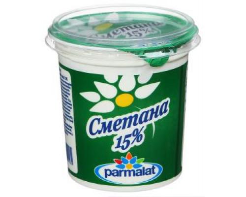 Сметана ТМ Parmalat (Пармалат), 15%, 400 г