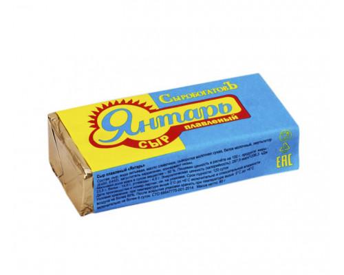 Сыр плавленый Сыробогатов Янтарь 50% 80 г