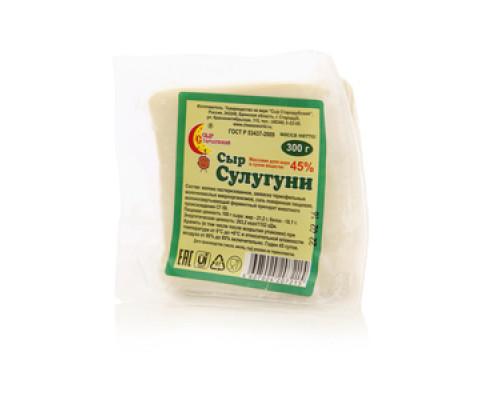 Сыр Сулугуни 45% ТМ Сыр Стародубский