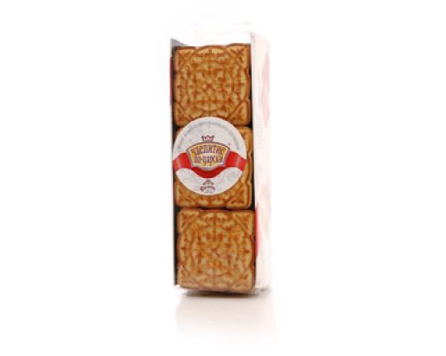 Печенье сахарное с суфле царское чаепитие ТМ Дымка