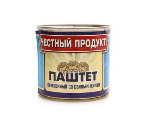 Паштет печеночный ТМ Честный продукт