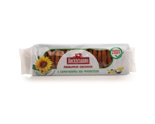 Печенье с семечками на фруктозе ТМ Посиделкино