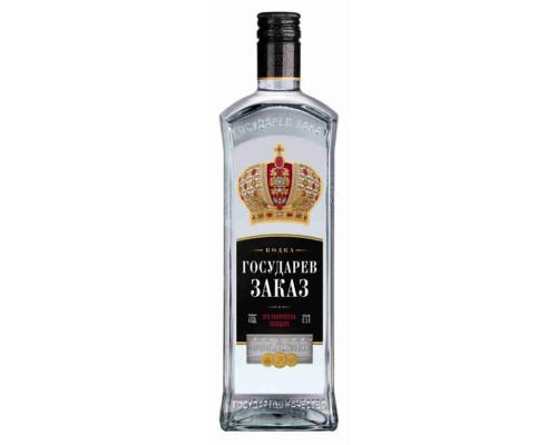 Водка Государев заказ 40% 0,5л