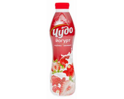 Йогурт питьевой Чудо клубника/земляника 2,4% 690г