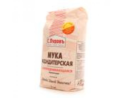Мука пшеничная кондитерская самоподнимающаяся ТМ С. Пудовъ, 2 кг