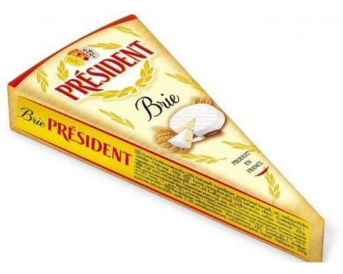 Сыр Бри ТМ President (Президент), мягкий, 60%, 200 г