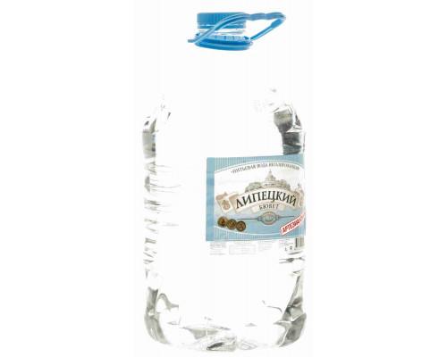 Вода питьевая Липецкий Бювет н/газ 1категория 5л пэт