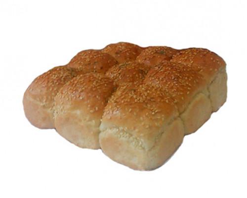 Изделие хлебобулочное из пшеничной хлебопекарной муки в/с Хлеб 'Чесночный' (пампушки) 0,35 кг