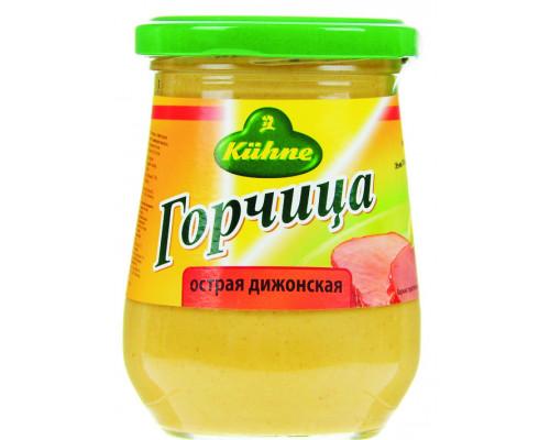 Горчица ТМ Kuhne (Кюхне) Mustard Hot острая дижонская, 260 г