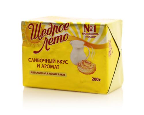 Маргарин Сливочный вкус и аромат 72% ТМ Щедрое лето