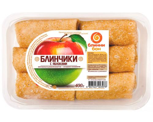 Блинчики ТМ Блинни Бон с яблоками, 400 г