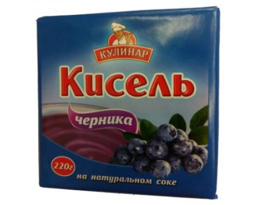 кулинар, кисель с Черникой, 220 г