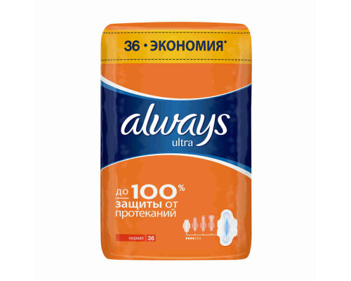 Прокладки Always Normal Plus, 36 шт.
