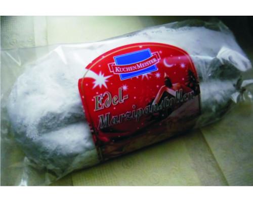 Кекс ТМ KuchenMeister (КюхенМейстер) марципановый рождественский, 500 г