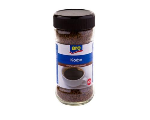 Кофе ТМ Aro (Аро) растворимый сублимированный, 80 г