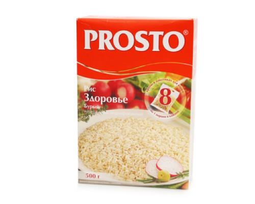 Рис Бурый 8*62,5г ТМ PROSTO(Просто)