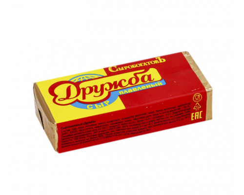 Сыр плавленый Сыробогатов Дружба, 50% 80 г