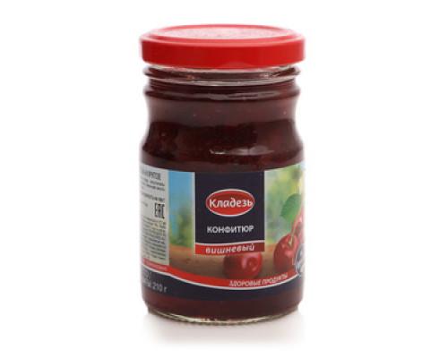 Конфитюр вишневый на фруктозе ТМ Кладезь