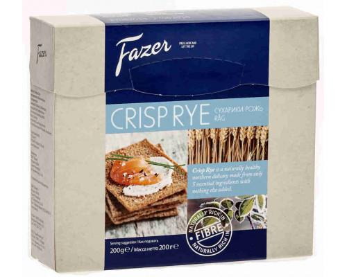 Хлебцы Fazer Crisp Ржаные 200г