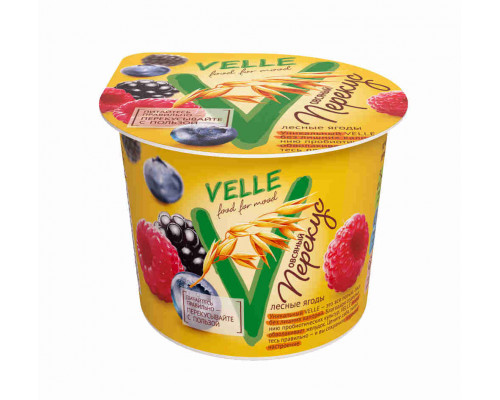 Продукт био-овсянный Velle лесные ягоды 140г
