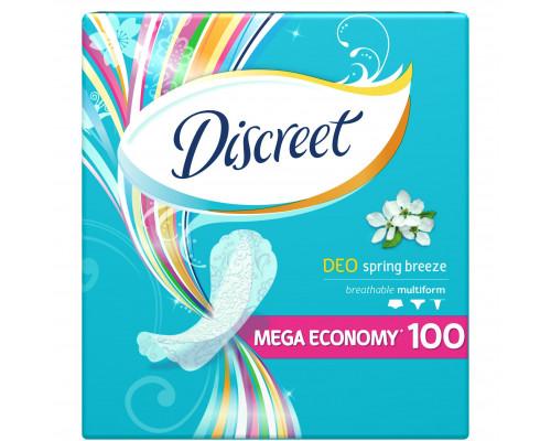Прокладки ежедневные ТМ Discreet (Дискрит) Deo Spring Breeze Multiform, 100 шт.