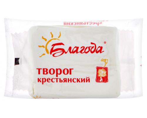 Творог крестьянский ТМ Благода, 12%, 180 г