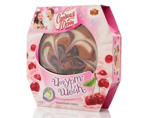 Пирог Йогурт-шейк вишневый Сдобная особа TM Черемушки