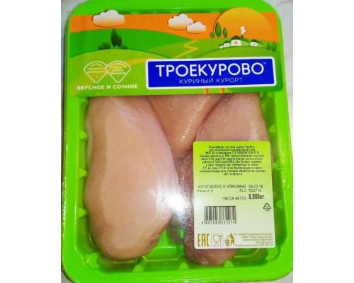 Филе цыпленка-бройлера ТМ Троекурово, 900 г