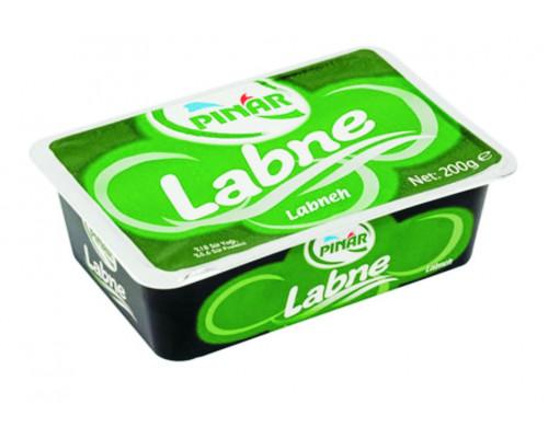Сыр ТМ Pinar (Пинар) мягкий Крем-сыр Labne 60%, 200 г