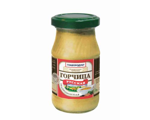 Горчица Главпродукт Русская 170г ст/б