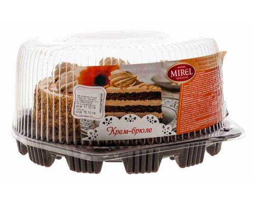 Торт Mirel Крем-брюле 750г