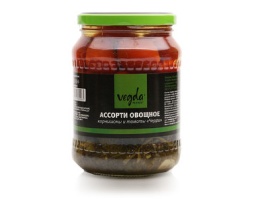 Ассорти овощное ТМ Vegda (Вегда)