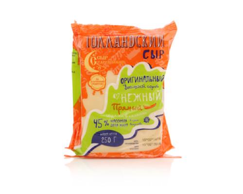 Сыр Голландский оригинальный высший сорт пряный 45% ТМ Сыр Стародубский