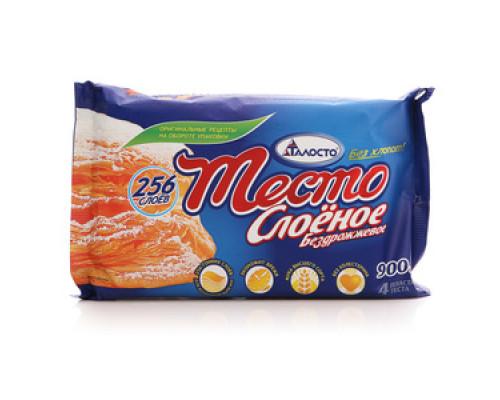 Тесто слоеное бездрожжевое 4*225 г ТМ Талосто
