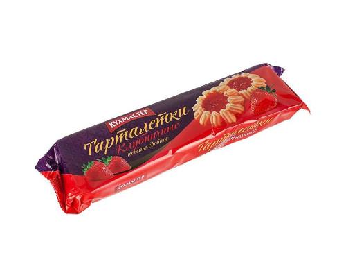 Печенье Клубничные тарталетки, Кухмастер 240 г