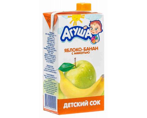 Сок Агуша яблоко/банан 500мл т/п
