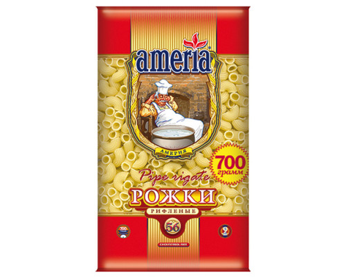 Макароны ТМ Ameria (Америя), рожки, 700 г
